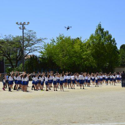 田辺市立新庄小学校 | ドローン撮影 | JIMOTT -地域ブランディング